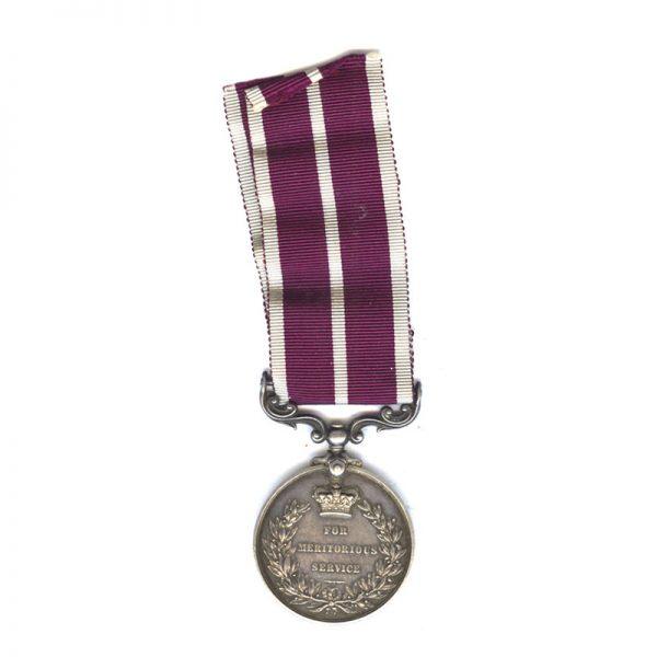 Meritorious Service Medal (GV) 2