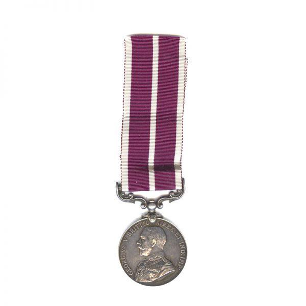 Meritorious Service Medal (GV) 1