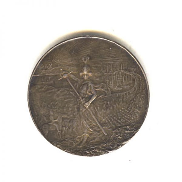 Peace Medal for the Second Boer War 1