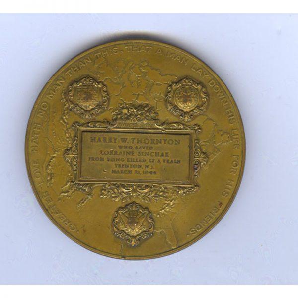 Carnegie Hero Fund Medal 2