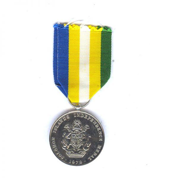 Solomon Islands Independence Medal 2
