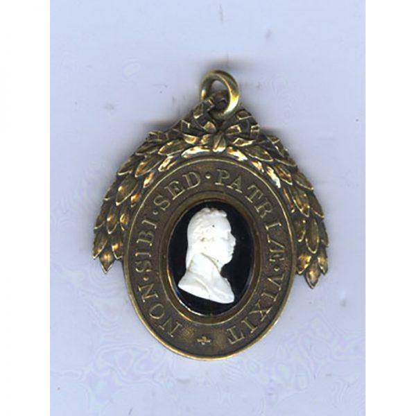 London Pitt Club Medal 1