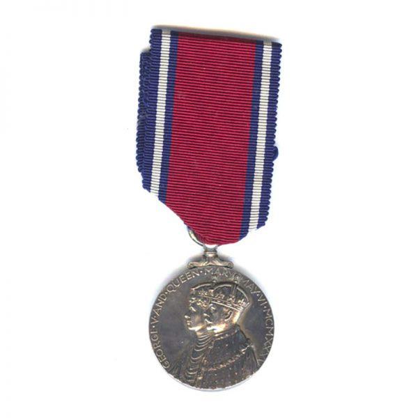 1935 Silver Jubilee Medal 1