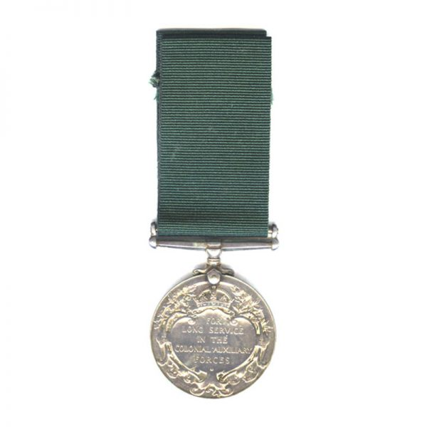 Colonial Auxiliary Forces Long Service and Good Conduct (GV) 2