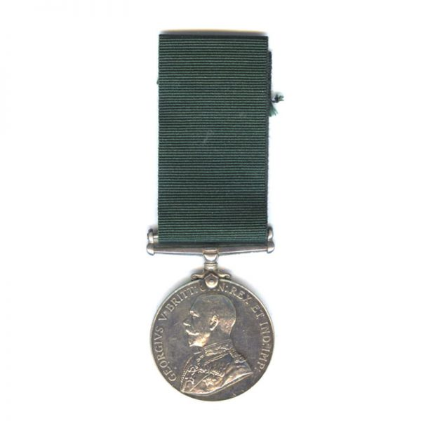 Colonial Auxiliary Forces Long Service and Good Conduct (GV) 1