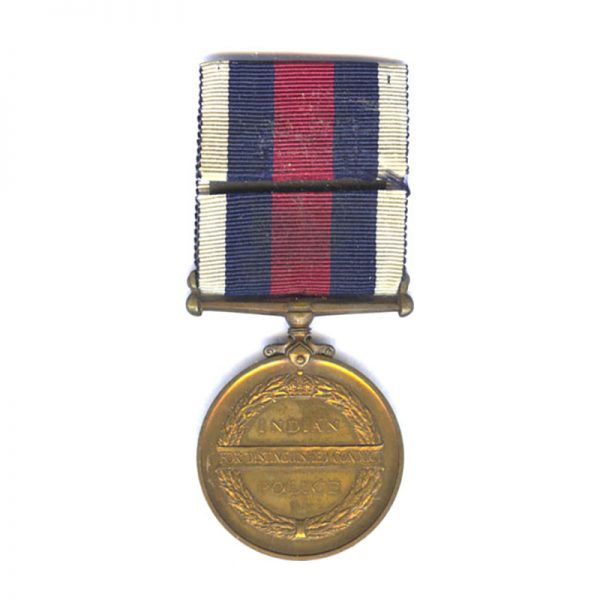 Indian Police Distinguished Conduct Medal (GVI) 2