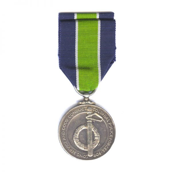 Colonial Police Long Service and Good Conduct Medal 2