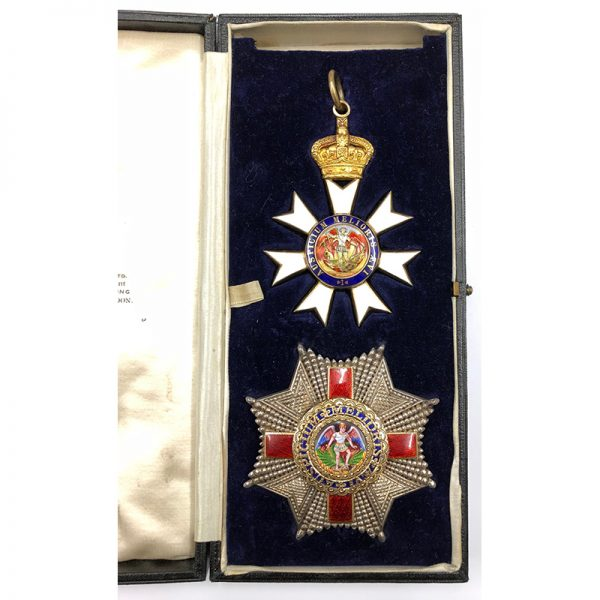 Knight Commander of the Order of St Michael and St George 1