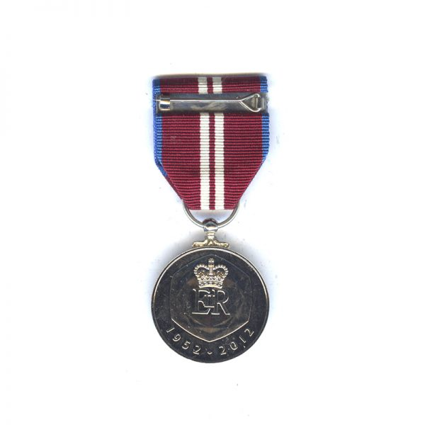 Queen's Diamond Jubilee Medal 2