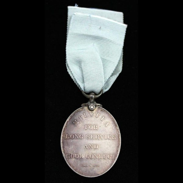 Militia Long Service and Good Conduct Medal 2