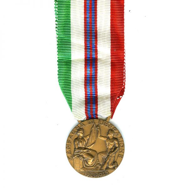 W.W.2   Campaign of Liberation medal 	(L10548)  N.E.F. £25 1