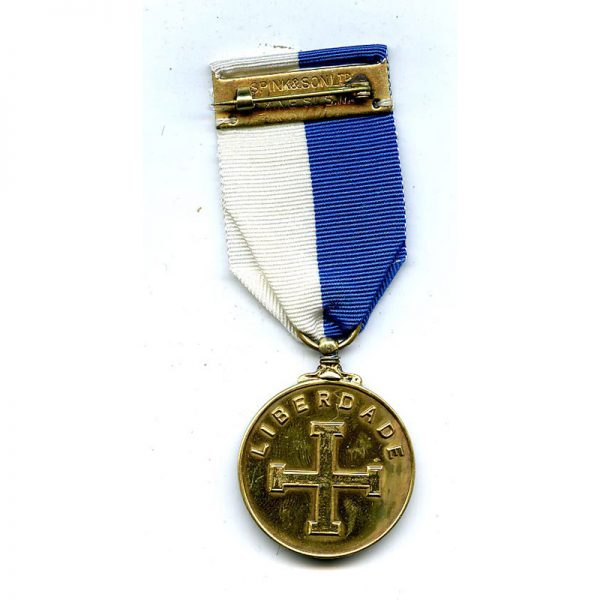 Medal of Liberty silver gilt by Spink  rare (L11424)  N.E.F. £125 2