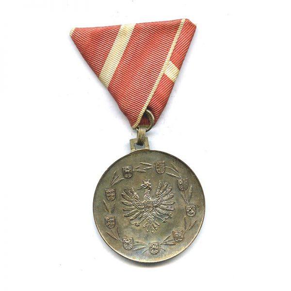Republic Order of Merit  Merit medal silver (L12172)  N.E.F. £35 1