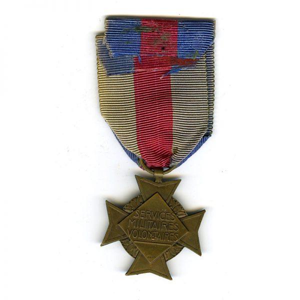 Volunteers Military Service Cross 2nd type 3rd class bronze(L13867)  G.V.F. £45 2