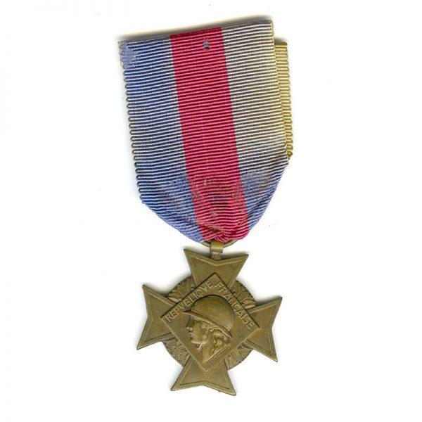 Volunteers Military Service Cross 2nd type 3rd class bronze(L13867)  G.V.F. £45 1