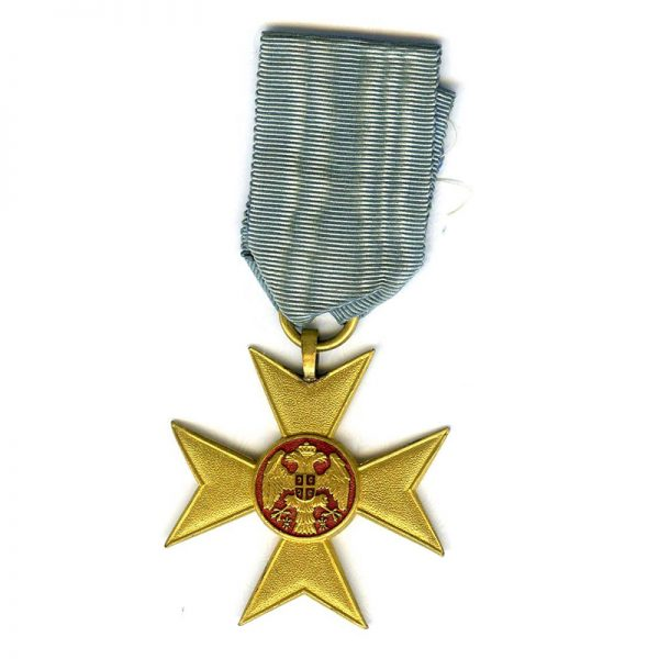 Gold Cross of Charity or Mercy 1912 (L14480)  G.V.F. £110 1