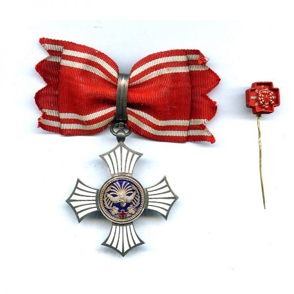 Red Cross Merit Order silver and enamels 1