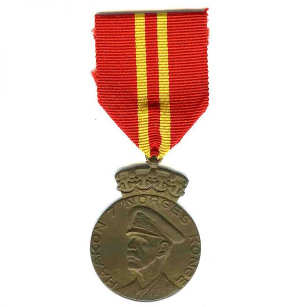 Haakon VII 70th Birthday medal 1
