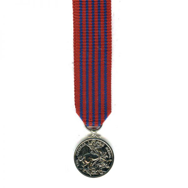 George Medal (EIIR)  modern excellent quality striking 		(L18001)  E.F. £15 2