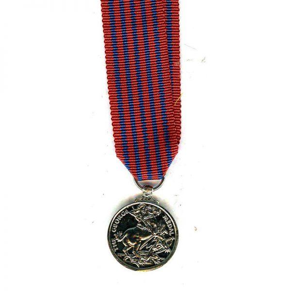 George Medal (GVI)  modern excellent quality striking(L18004)  E.F. £15 2