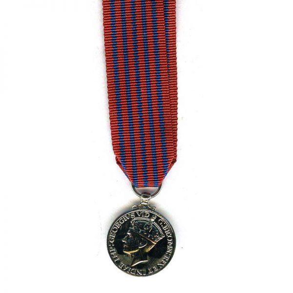 George Medal (GVI)  modern excellent quality striking(L18004)  E.F. £15 1