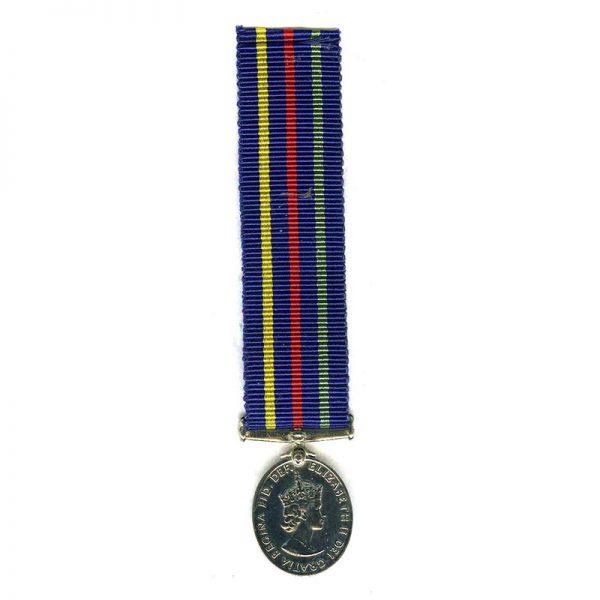Civil Defence Medal (EIIR) (L18016)  E.F.  £18 1