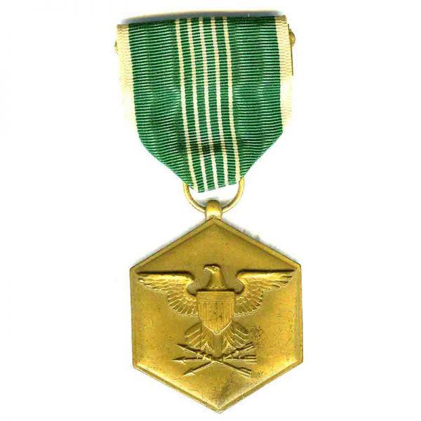 Army  Commendation medal named to 1st Lt. Mike Corpuz Jr(L18091)  G.V.F... 1