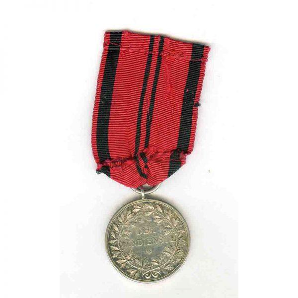 Silver Merit Medal 1892-1918 Wilhelm II silver scarce(L18457)  N.E.F. £100 2
