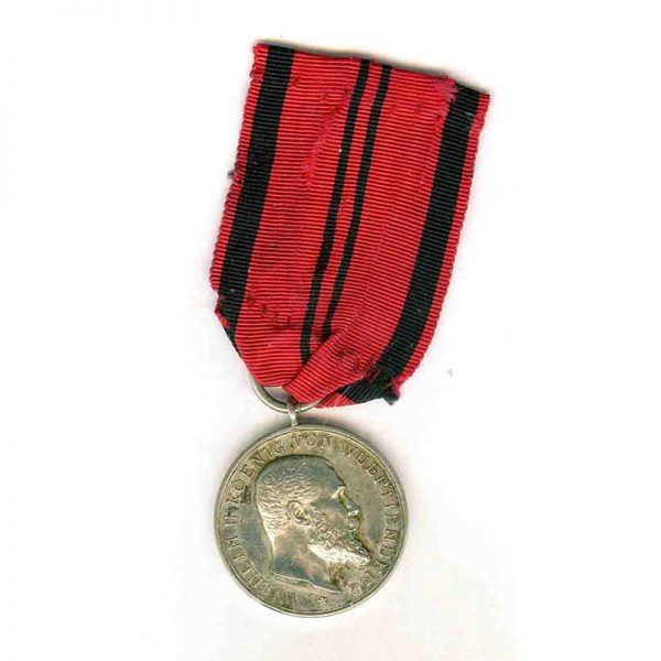 Silver Merit Medal 1892-1918 Wilhelm II silver scarce(L18457)  N.E.F. £100 1