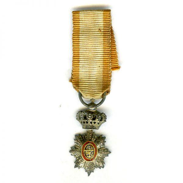 Order of Cambodia fine quality in silver(L18553)  N.E.F. £55 1