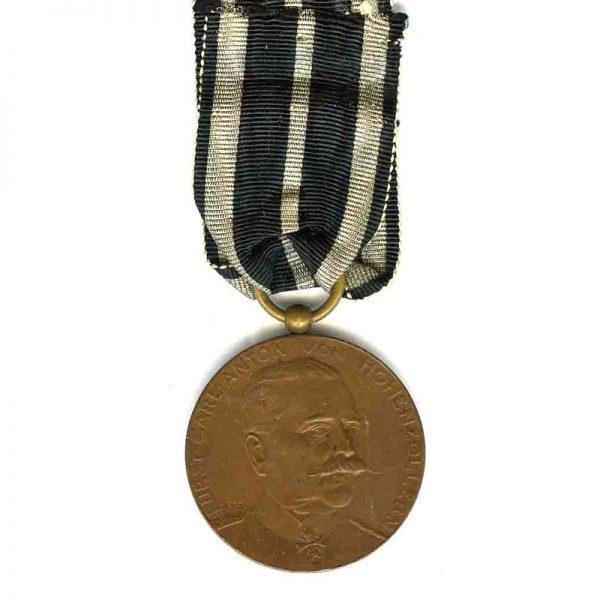 Carl Anton Merit medal 1911 bronze scarce(L18592)  G.V.F. £120 1