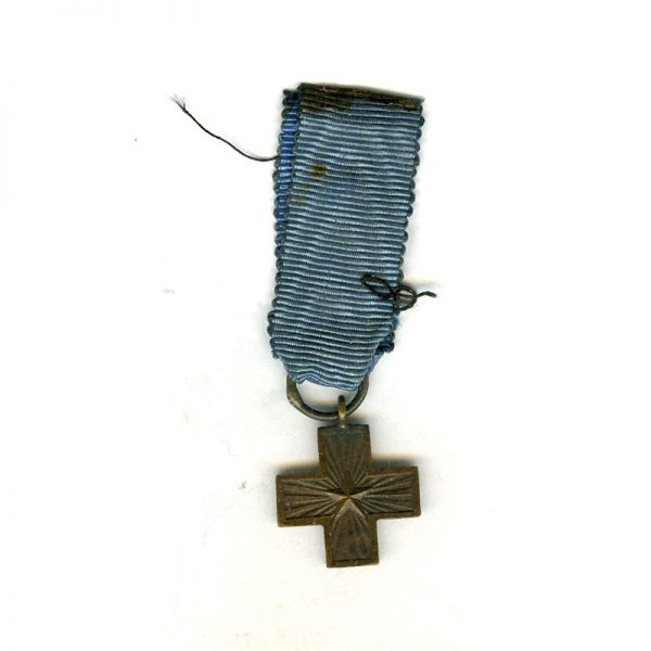 War Cross R.I 	(L18624)  G.V.F. £25 1