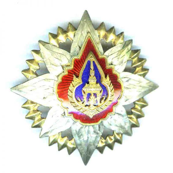 Order of the Crown Grand Officer neck badge and breast star 2nd... 3