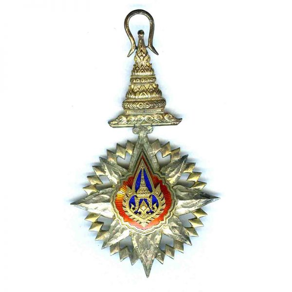 Order of the Crown Grand Officer neck badge and breast star 2nd... 1