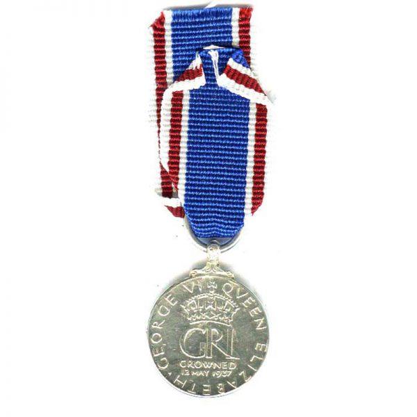 1937 Coronation (GVI) (L19730)  N.E.F. £15 2