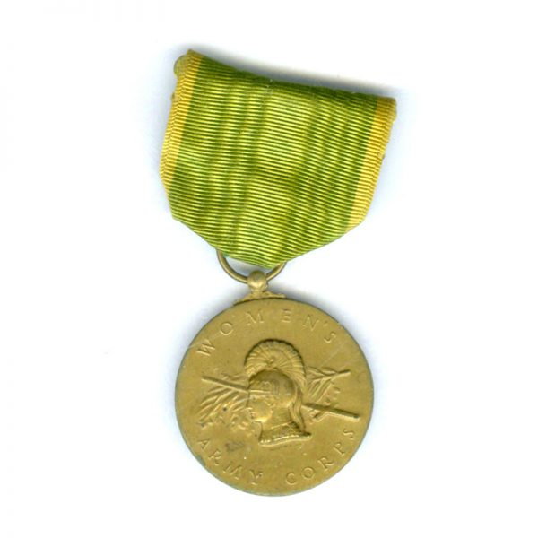 Womens Army Corps Medal 1942-1943 1