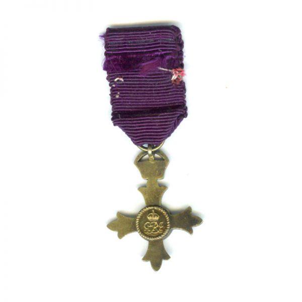 O.B.E. 1st type civil(L20776)  G.V.F. £25 2