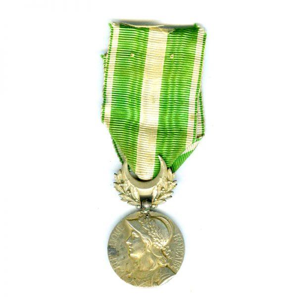 Maroc medal no bars suspension repaired(L20857)  V.F. £35 1
