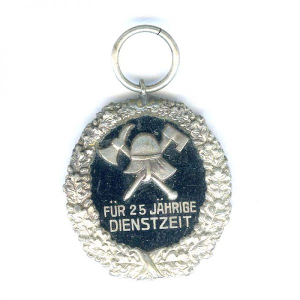 Fire Brigade L.S. 25 years (n.r) (L20915)  N.E.F. £40 1