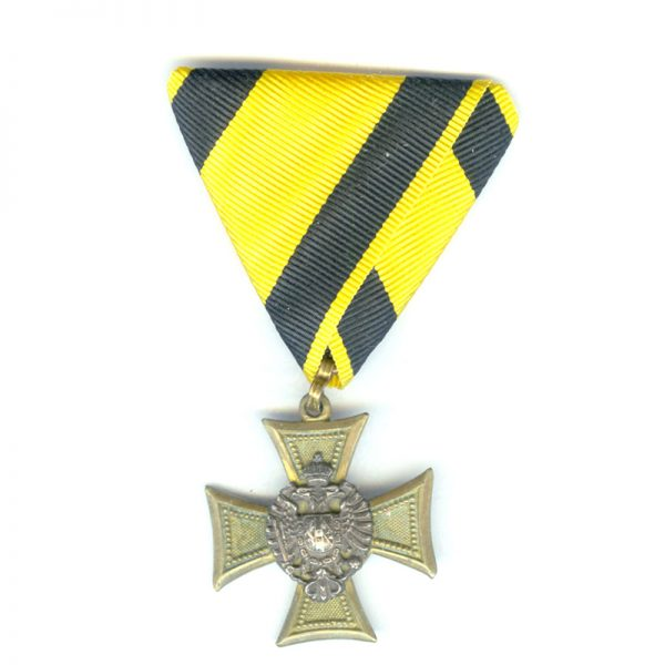 Military L.S.Cross Officer 2nd type 1867-1890 for 25 years(L20970)  G.V.F. £95 1