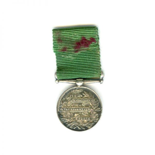Volunteer L.S.G.C. EVII scarce(L21058)  E.F. £30 2