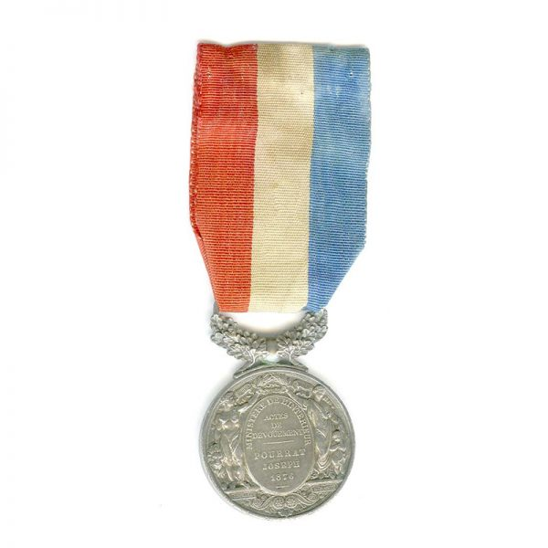 Life Saving Medal Ministry of the Interior Republic small silver 2