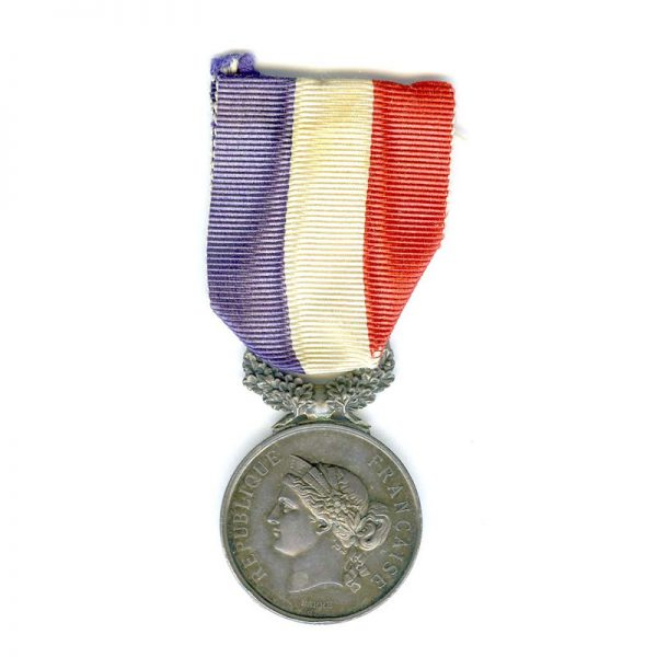 Life Saving Medal Ministry of the Interior Republic small silver 1