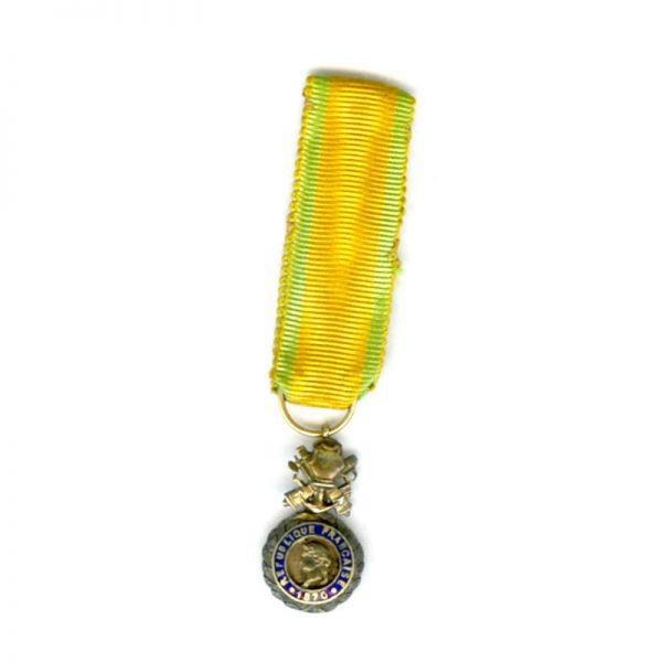 "Medaille Militaire 1870 ""Aux Generaux"" deluxe type 1"