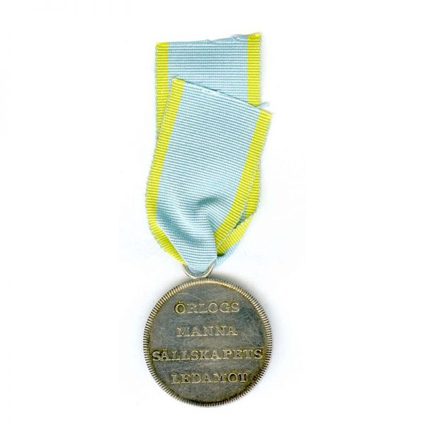 The Royal Society of Naval Science's Medal of Merit in silver 2