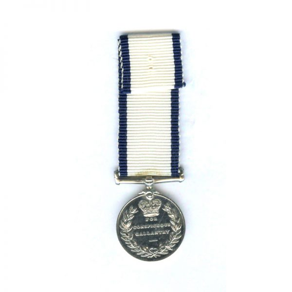 Conspicuous Gallantry medal (EIIR) scarce  	(L21652)  E.F. £75 2