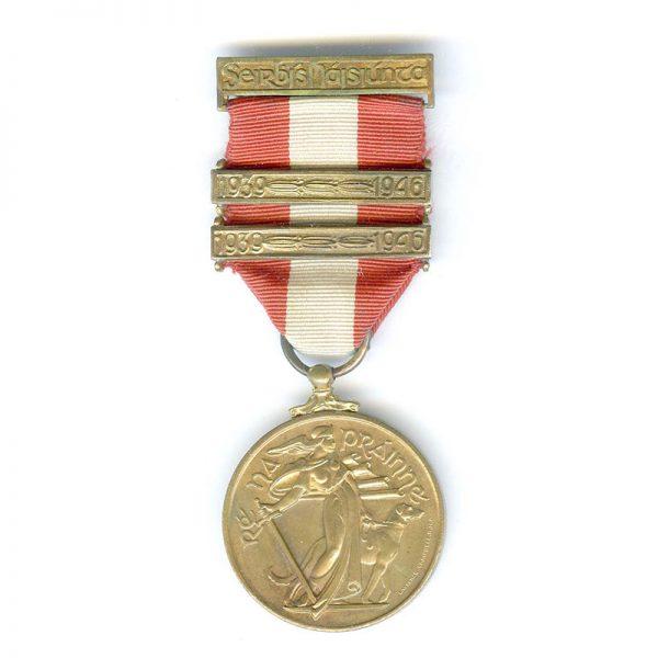 Emergency Service Medal 1939-45 1