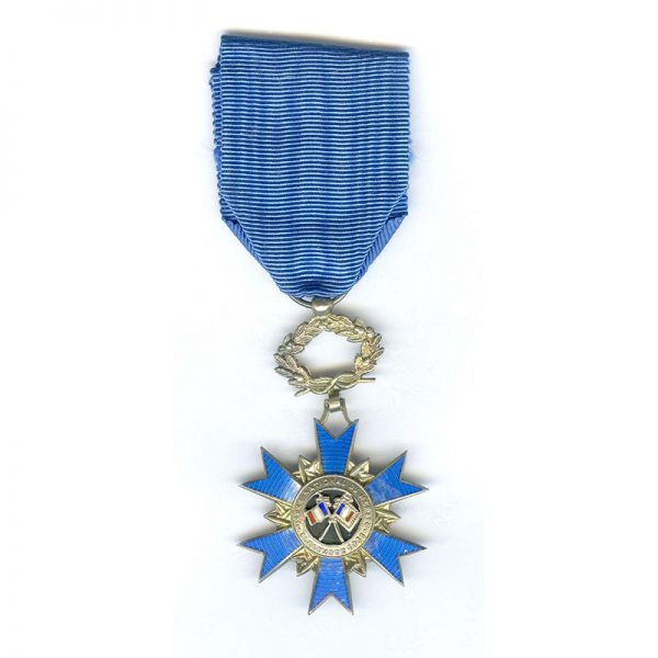 Order of National Merit  1965 Knight early deluxe issue silver with 3... 1