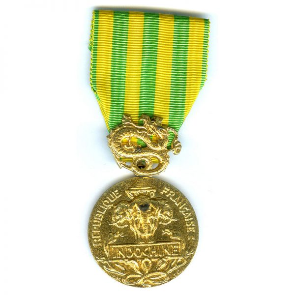 Indochina medal (L22135)  G.V.F. £45 1