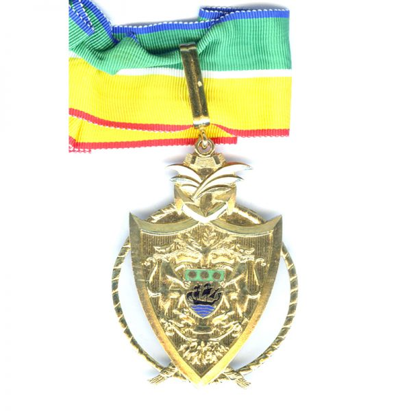 Order of the National Merit 1971 Commander with full neck ribbon 1